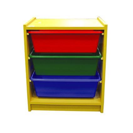 3 Level Horizontal Wood Drawers