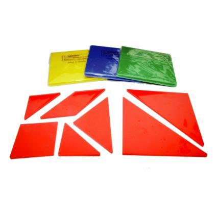 4 Colour Tangram (28pcs)