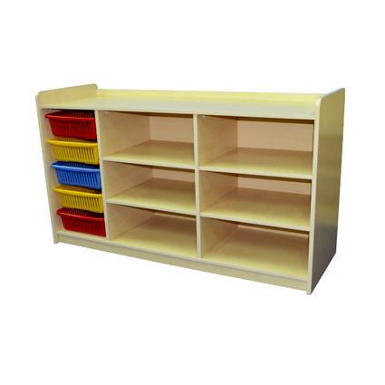 5 Basket Shelf