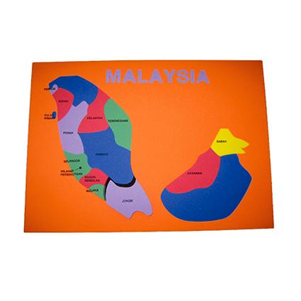 Eva Foam Malaysia Map