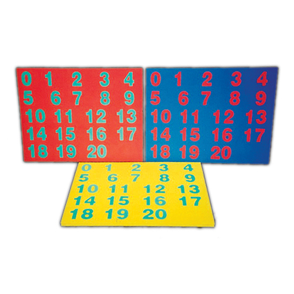 Eva Foam Number Puzzle