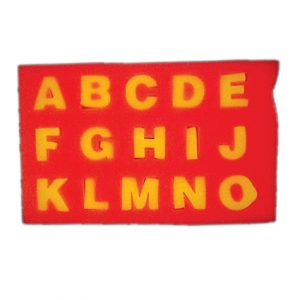 Alphabet Eva Foam