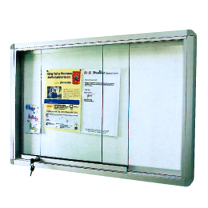 Glass Sliding Cabinet