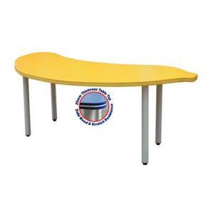 Banana Shaped Table