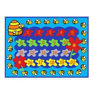 Bees Alphabets & Numbers
