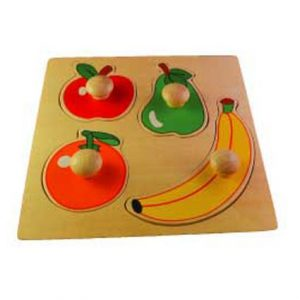 Big Knob Puzzle   Fruit