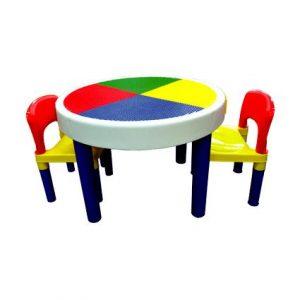 Big Round Blocks Table