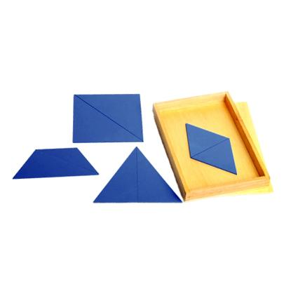 Blue Constructive Triangles