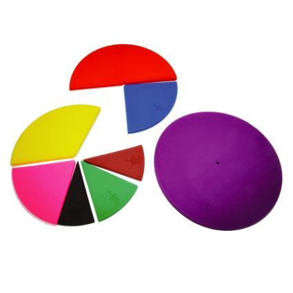 Circle Fraction Set (51pcs)