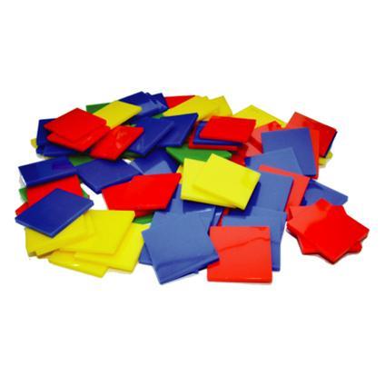 Colour Square Tiles (400pcs)