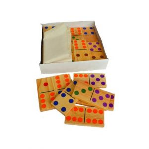 Colour & Number Dominoes