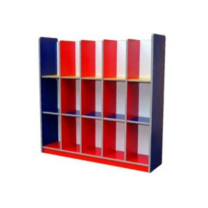 Colourful 15 Holes Bag Shelf