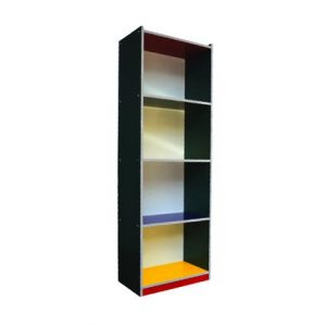 Colourful 4 Level Shelf