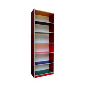 Colourful 6 Level Shelf
