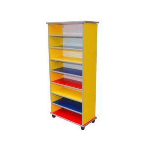 Colourful 8 Level Shoes Shelf