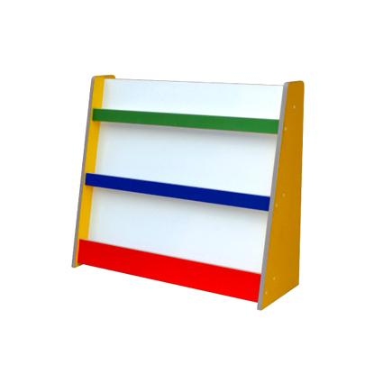 Colourful Library Shelf