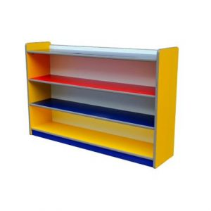 Colourful Low Books Shelf