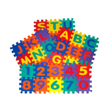 Jigsaw Alphabet & Numbers