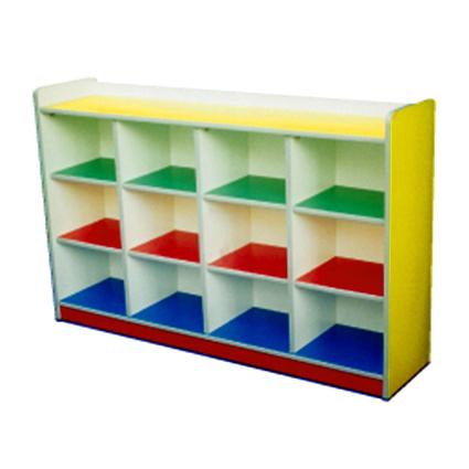 Manipulative Cubby Shelf