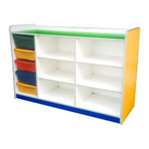 Manipulative Storage Shelf
