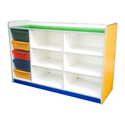 Manipulative Storage Shelf