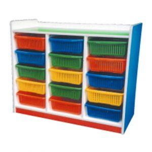 Manipulative Storage Shelf (15 Baskets)
