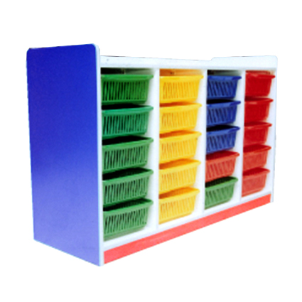 Manipulative Storage Shelf (20 Baskets)