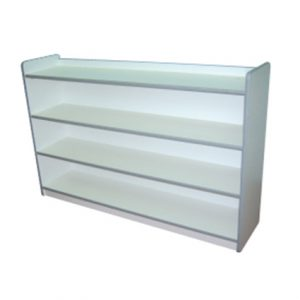 Low Book Shelf (White)