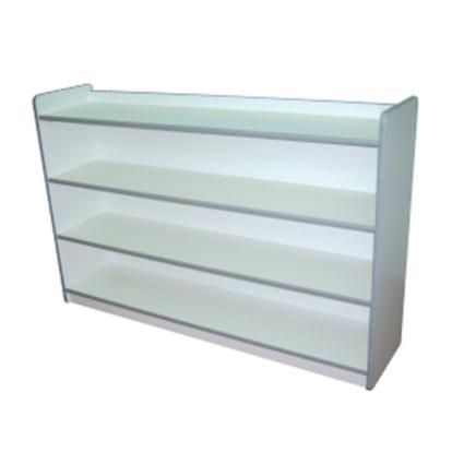 Low Book Shelf (White)
