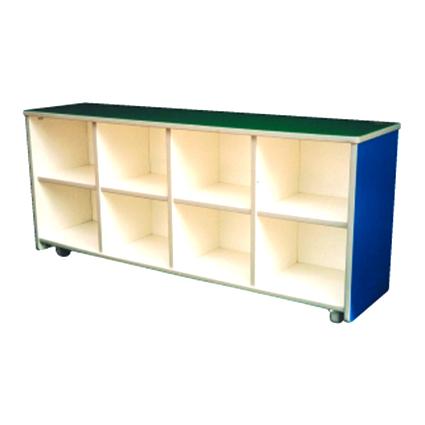 8 Holes Cubby Shelf