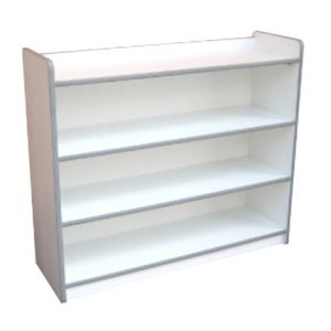 Low Storage Shelf (White)