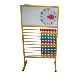 Counting Frame with Clock