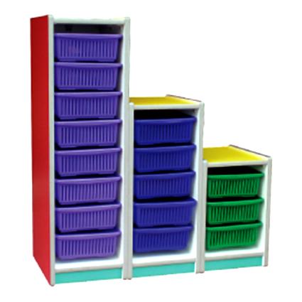 Tower Sliding Shelf (16 Baskets)