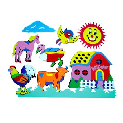 Farm Animal Wall Sticker