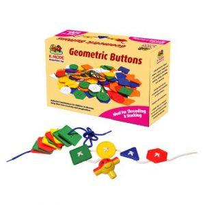 Geometric Buttons (120pcs)