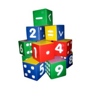 Huge Numbering Cubes (12pcs)