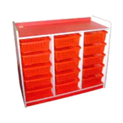 Storage Rack (15 Baskets)