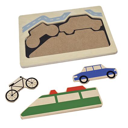 Land Vehicles Puzzle