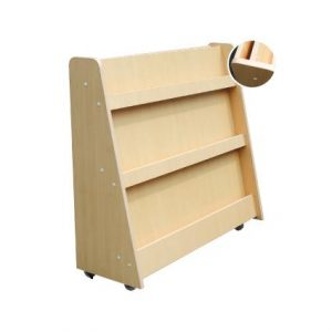Library Shelf with Roller