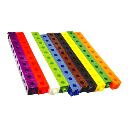 Link Cube 10 Colours (500pcs)