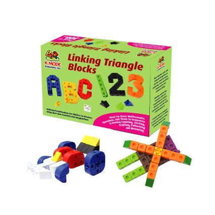 Linking Triangle Blocks (300pcs)