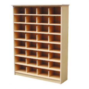 32 HOLES SHOE RACK (MAPLE)