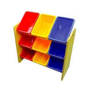 MDF Shelf (9 Bins)