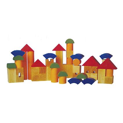 Colourful Architectural Blocks
