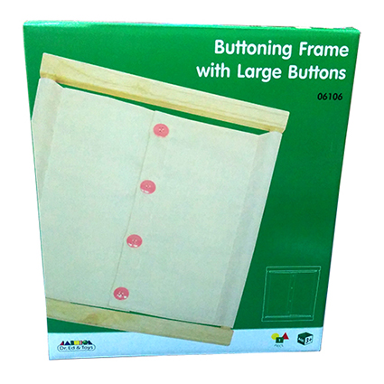 Buttoning Frame with Large Button