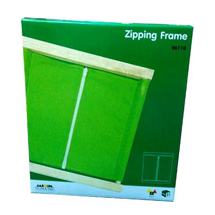 Zipping Frame