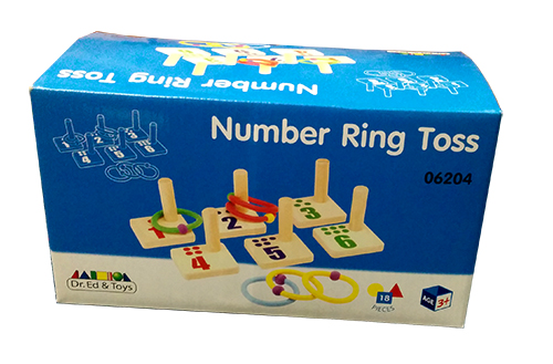 Number Ring Toss
