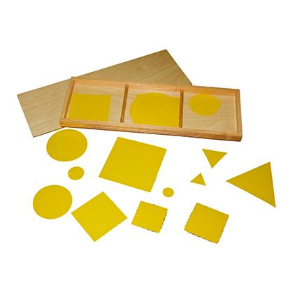 Squares, Triangles & Circles