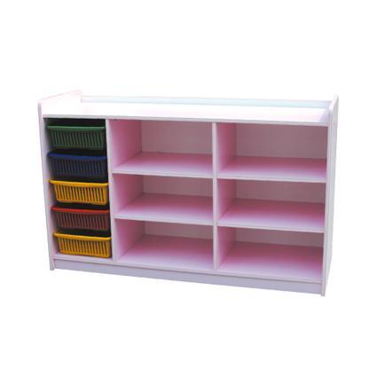 Manipulative 5 Basket Shelf