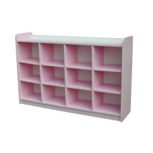 Manipulative Cubby Shelf